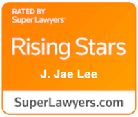 Rated By - Super Lawyers | Rising Stars | J. Jae Lee